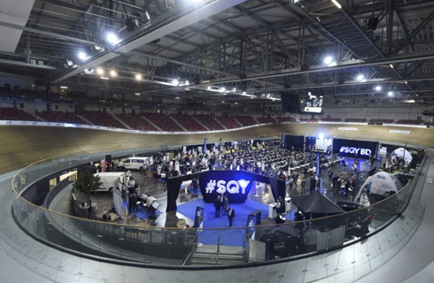 GEYVO Ile de France participe auSQY Business Day vélodrome