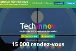 TECHINNOV 2020, Salon rencontres de l'innovation