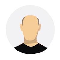 Pictogramme - Portrait homme chauve