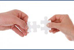 Puzzle qui s'assemble