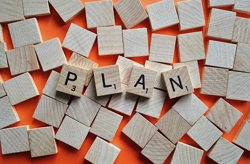 "Mot ""Plan""- lettres scrabbl"