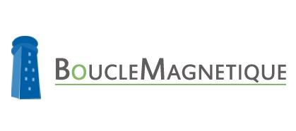 """Logo """"Boucle magnétique"""", société Prévention Expertise Conseils"""