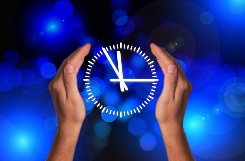Temps partagé, horloge